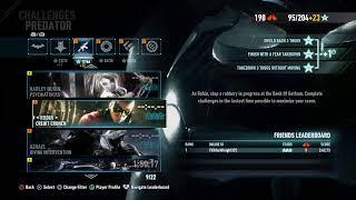 Batman Arkham Knight Stealth challenges