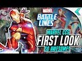 MARVEL BATTLE LINES | First Impressions | MARVEL TCG!