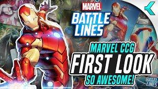 MARVEL BATTLE LINES | First Impressions | MARVEL TCG!
