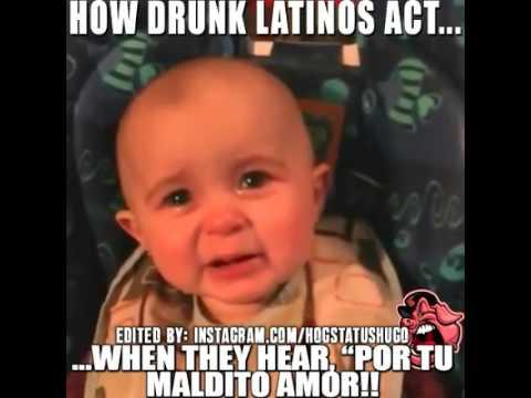 How Drunk Mexicans Act When They Hear Por Tu Maldito Amor Vicente Fernandez