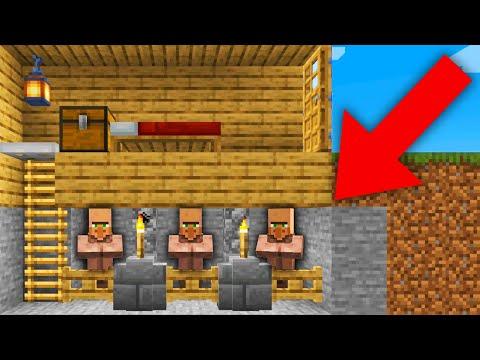 TRAMPA DE ALDEANOS! 😎🔥| Minecraft