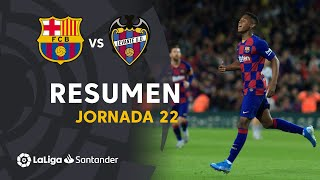 Highlights fc barcelona vs levante ud ...
