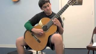 Zambra Granadina by Isaac Albeniz (arr. for guitar)