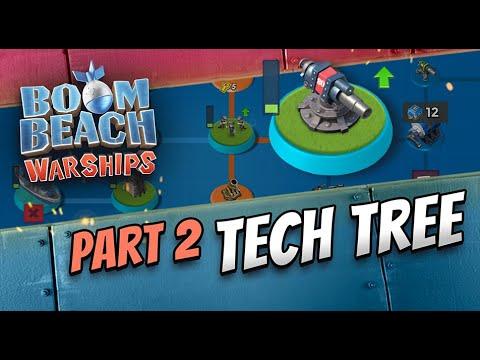Boom Beach Warships: Tech Tree Break Down!