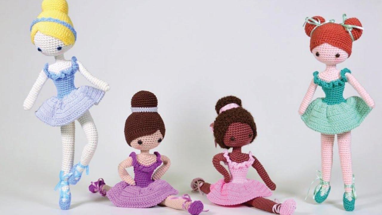 5 apaixonantes modelos de bonecas de amigurumi - Viver de Artesanato | 720x1280