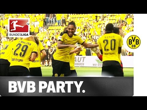Table-toppers dortmund celebrate like champions