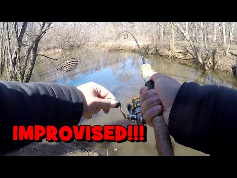 IMPROVISED!!! 4 SPECIES In One Day! (Winter Multi-Species Fishing)