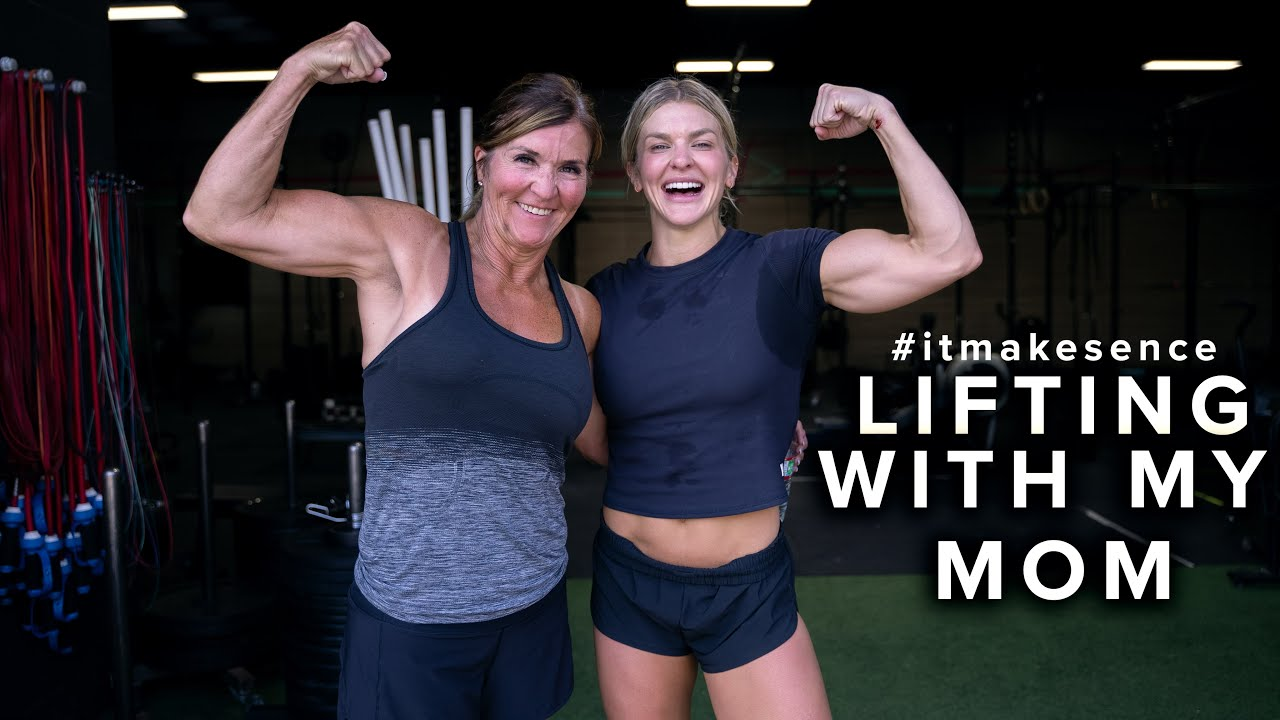BROOKE ENCE VLOGS | Hitting A Workout With My Mom!