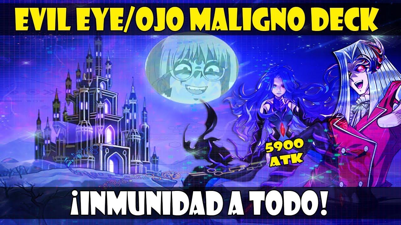 EVIL EYE/OJO MALIGNO DECK | ¡¿EL CAMPEO VUELVE A SER BUENO?! - DUEL LINKS