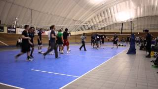 Vancouver Volleyball 2014 03 27 Thu Mens League Finals Tier 1 Win