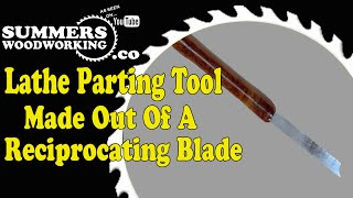 070 Make A Lathe Parting Tool Out Of A Reciprocati