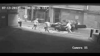 Car Falls From Austin Parking Garage