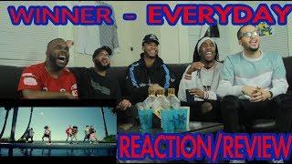 WINNER - EVERYDAY M/V REACTION/REVIEW - Stafaband