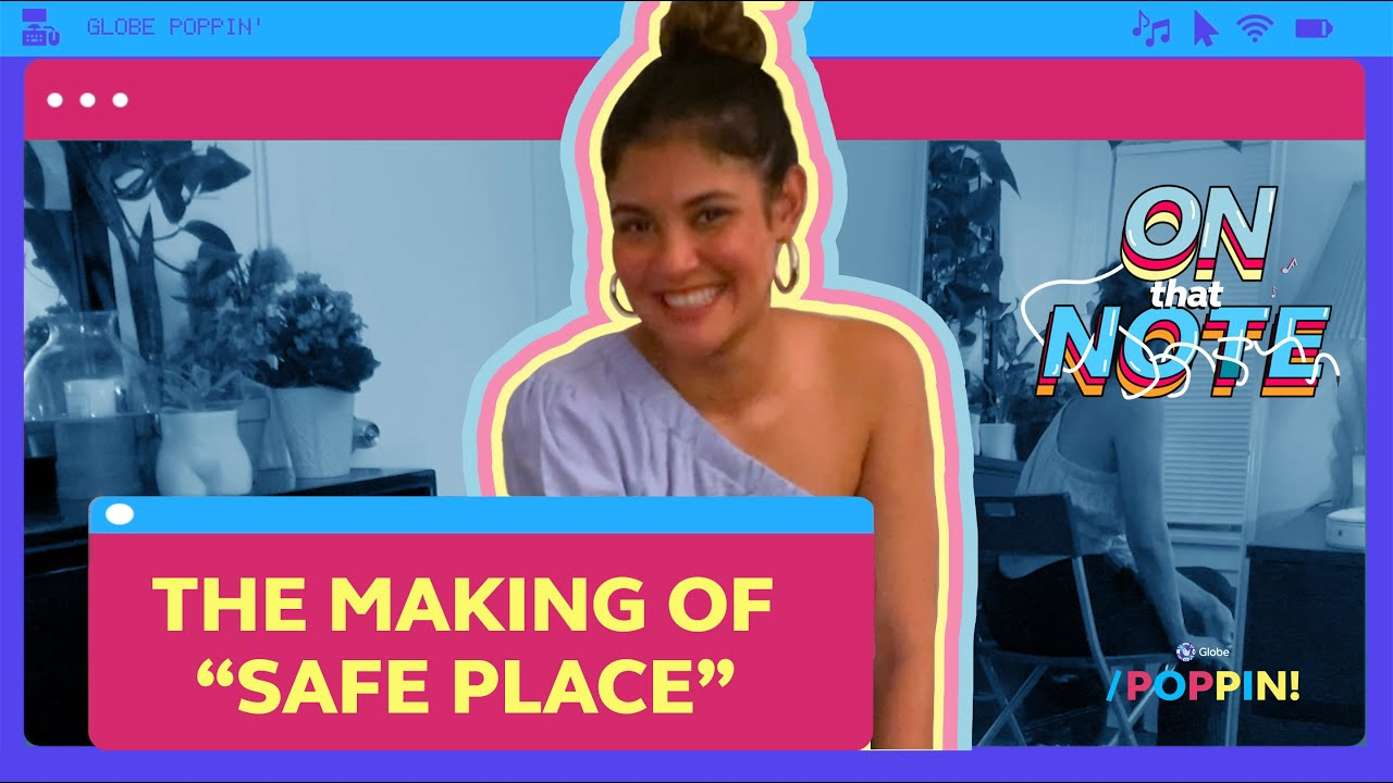 Kiana V reveals her songwriting process for 'Safe Place' | Globe Poppin'