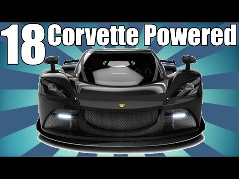 18 Corvette Powered Supercars! (Yes, 18 of them)