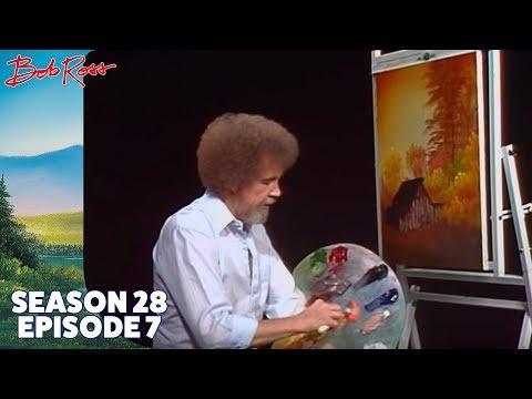 Bob Ross - The Old Weathered Barn (Season 28 Episode 7)