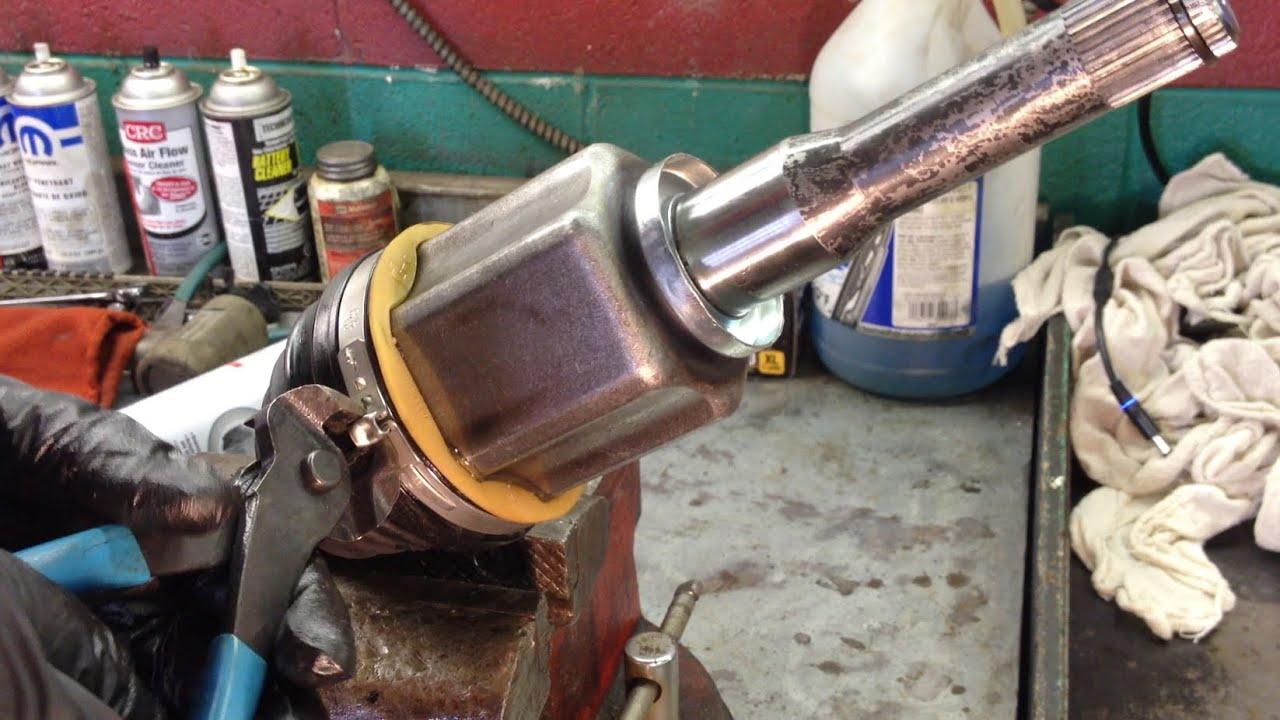 Ford Escape 6f35 Transmission Lh Axle Seal Leak Repair