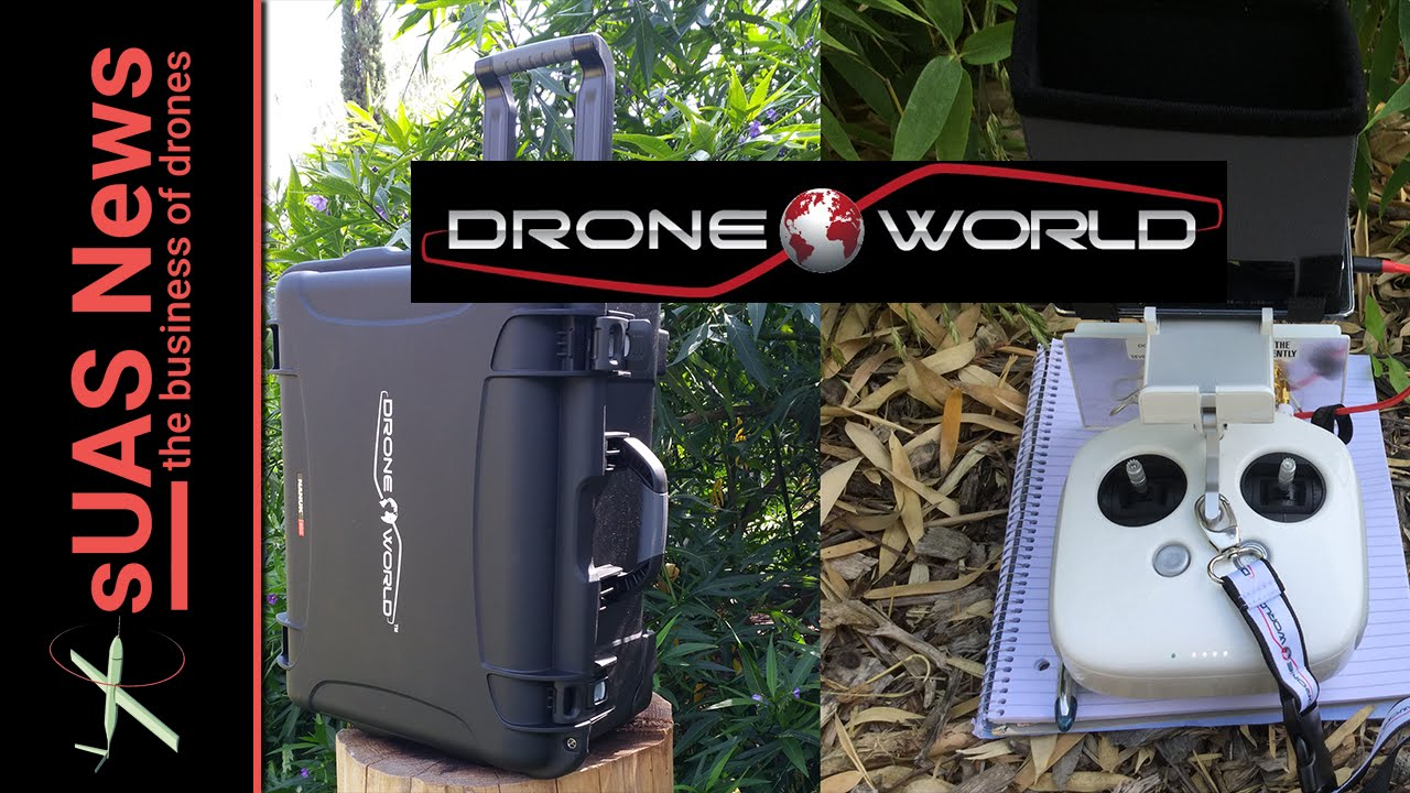Drone World Phantom 4 Executive Kit Review Part 2 - YouTube