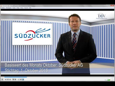 Beliebte Basiswerte von Zertifikaten: Südzucker AG