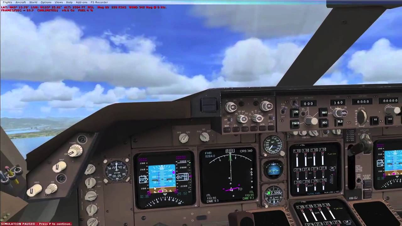 fsx boeing 747 400 takeoff and landing basics youtube rh youtube com Boeing 747 800 Boeing 747 400- Seat Layout