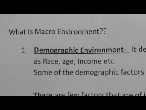 Macro Environment -Explained in detail(In hindi)Strategic Management- IPCC Group2