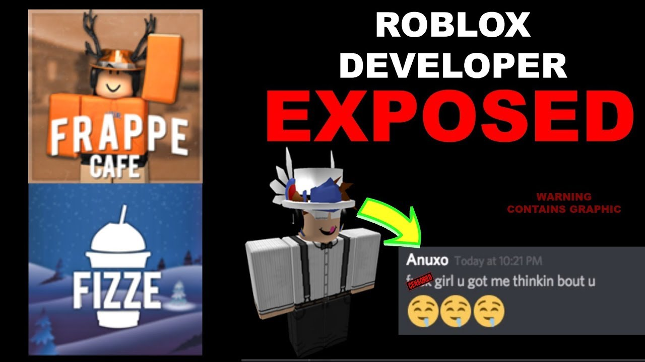 ROBLOX Frappe Builder and Fizze Owner EXPOSED - YouTube