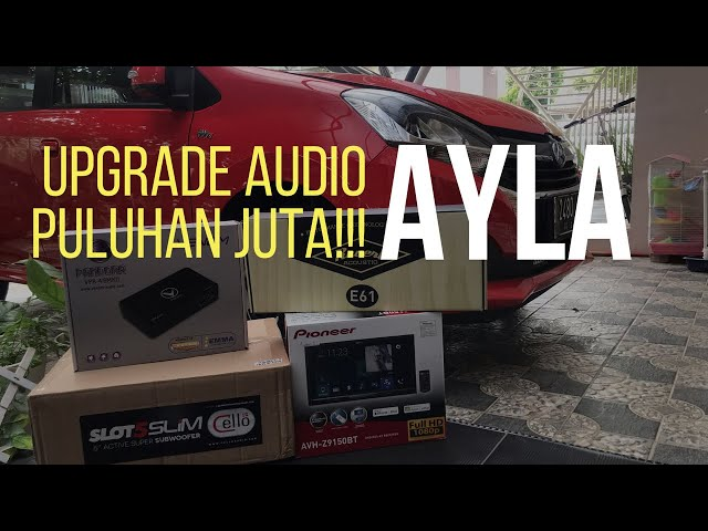 Premium Audio Daihatsu Ayla Home Service Bintaro Pioneer