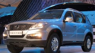 Mahindra Ssangyong Rexton W SUV Launched | Walkaround Video