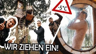 24h in our TREEHOUSE! | Living in our DREAM- TREEHOUSE! #1