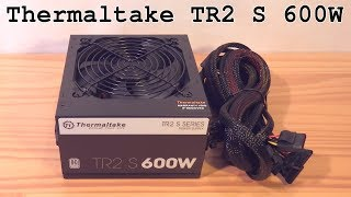 thermaltake TR2 S 600W Unboxing and Review