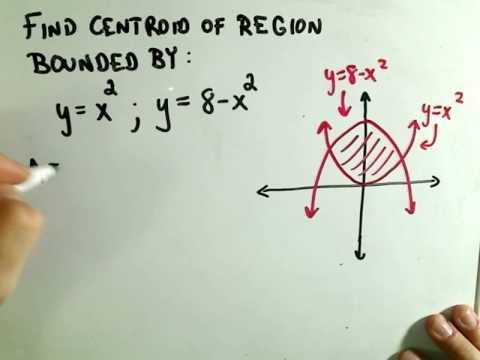 Centroids / Centers of Mass - Part 1 of 2