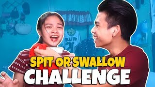 SPIT OR SWALLOW CHALLENGE!! | Jd and Tricia