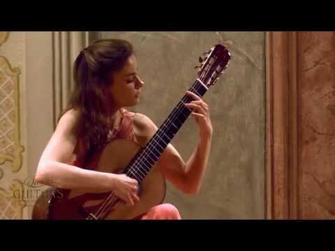 Ana Vidovic plays 'El Marabino' by Antonio Lauro クラシックギター