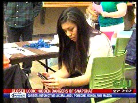 RIT on TV: Social Media Expert Discusses Snap Chat