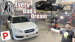 Building My Son His First Car / P Plater Build EP1 - THE SKID FACTORY