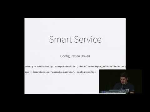 Smart services & smart clients:  How micro-services change the way you build and deploy code.