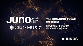 The 2018 JUNO Awards Broadcast