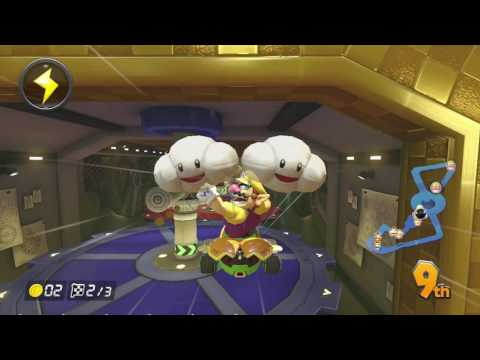 Mario Kart 8 (MK8) Online - HX KEVIN IS A SPEED AND VR HACKER
