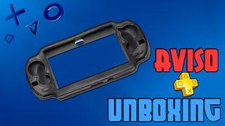 Unboxing Case Protetora PS Vita + Alerta sobre enganações