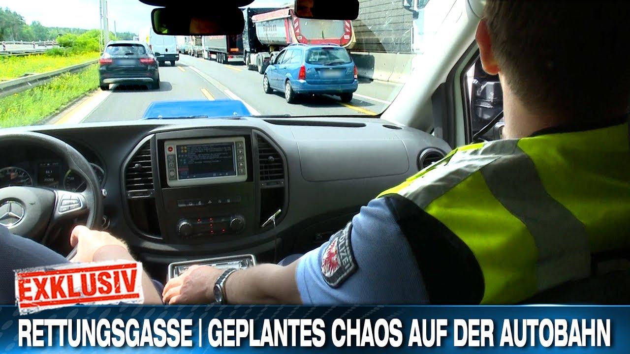 RETTUNGSGASSE | GEPLANTES CHAOS AUF DER AUTOBAHN