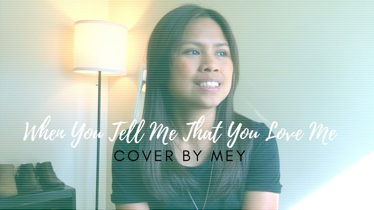 When You Tell Me That You Love Me - Diana Ross ( COVER By Mey )