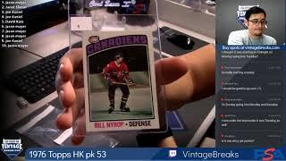 2018 09 21 1976 Topps Hockey Wax Pack 53
