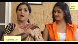 Actress Keerthi Suresh and Menaka Interview