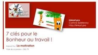 7 CLES POUR LE BONHEUR AU TRAVAIL : LA MOTIVATION – GHL 75