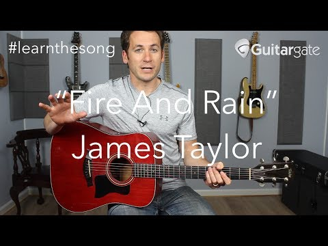 """""""Fire And Rain"""" - James Taylor /// Melody And Harmony Lesson - #learnthesong"""