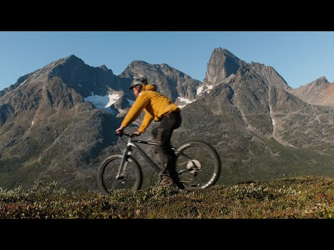 Greenland Adventure: Mountain Biking by Helicopter