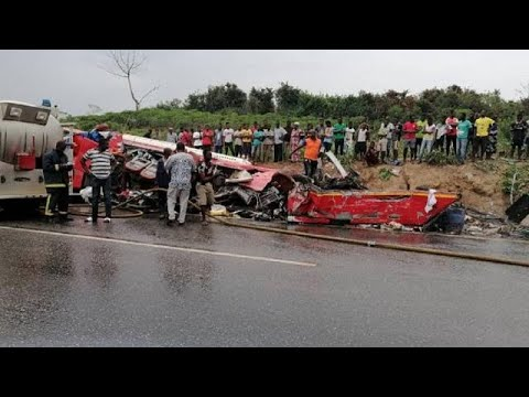 34 Killed In Accident On Ghana Highway