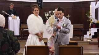 Un frère fait une apparition surprise à sa sœur pour son Mariage / Big surprise for the Bride
