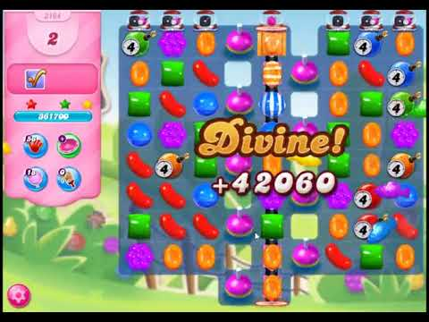 Candy Crush Saga Level 3164 - NO BOOSTERS