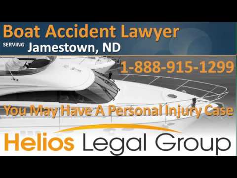 Jamestown Boat Accident Lawyer & Attorney - North Dakota